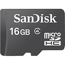 SanDisk 16 GB microSD High Capacity