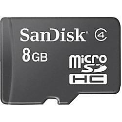 SanDisk microSD Memory Card 8GB