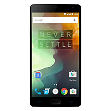 OnePlus 2 Cell Phone Black PON100001