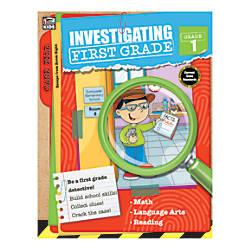 Thinking Kids Investigating First Grade Grade