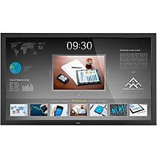 NEC Display 46 LED Backlit Touch