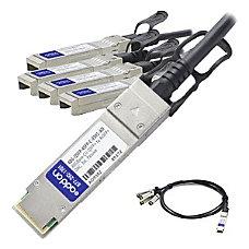 AddOn Brocade 40G QSFP 4SFP C