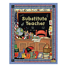 Teacher Created Resources Susan Winget Substitute