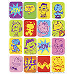 Eureka Lenticular Recognition Themed Stickers Peanuts