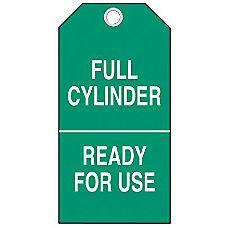 Brady Cylinder Status Tags Full Cylinder