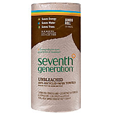 Seventh Generation 100percent Recycled 2 Ply