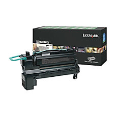 Lexmark X792X1KG Return Program Extra High