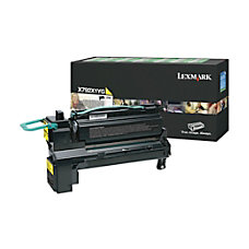 Lexmark X792X1YG Return Program Extra High