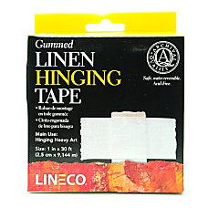 Lineco Gummed Linen Tape 1 x