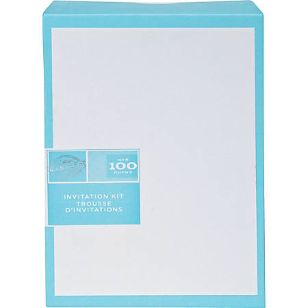 Gartner studios invitations 5 12 x 8 12 white pack of 100 for Www gartnerstudios com templates