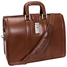 McKleinUSA MORGAN 17 Brown Litigator Laptop
