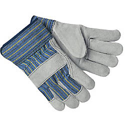 SELECT LEATHER PALM GLOVES LARGE 2