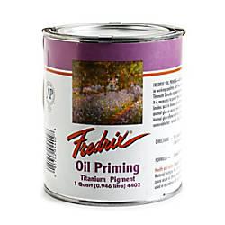 Fredrix Titanium Dioxide Oil Priming Compound