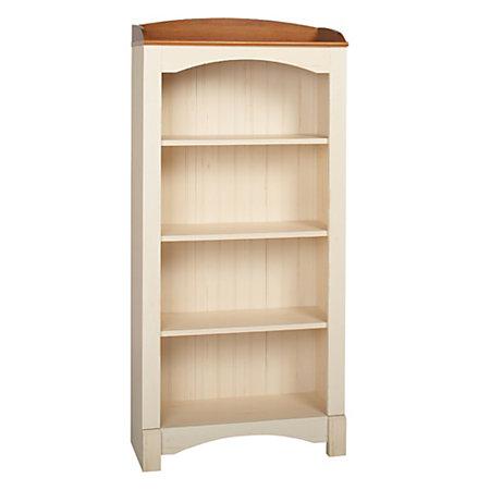 Realspace Shore Mini Solutions 4 Shelf Bookcase Antique