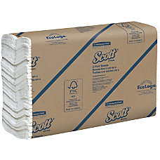 Scott 100percent Recycled C Fold Paper