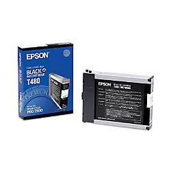 Epson T480 T480011 Black Ink Cartridge