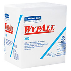 Kimberly Clark Wypall X60 Wipers 12