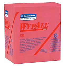 Wypall X80 Wipers 14 Fold Hydroknit