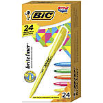 BIC Brite Liner Highlighters Assorted Box