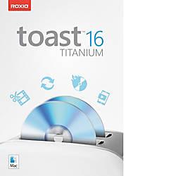Roxio Toast 16 Titanium Mac Download