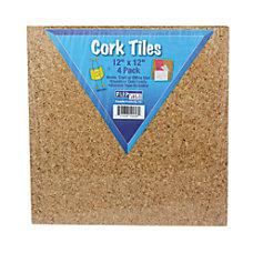 Flipside Cork Wall Tiles 12 x