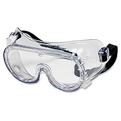 Crews Chemical Safety Goggles Clear Lens