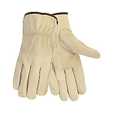 Memphis Economy Leather Driver Gloves Medium