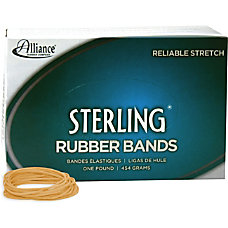 Alliance Sterling Rubber Bands 18 Size