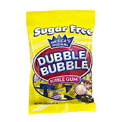 Dubble Bubble Sugar Free Bubble Gum