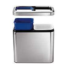 simplehuman Small Brushed Stainless Steel Slim