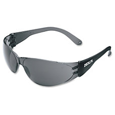 Crews Checklite Gray Lens Safety Glasses