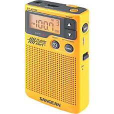 Sangean DT 400W Weather Alert Radio