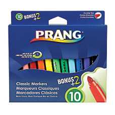 Prang Classic Color Art Markers Assorted