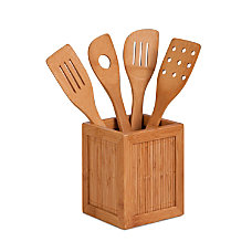 Honey Can Do Bamboo Kitchen Caddy
