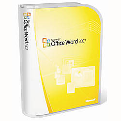 microsoft word 2007 full version traditional disc by