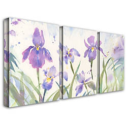Trademark Global June Iris Gallery Wrapped
