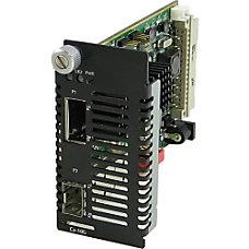 Perle C 10G XTSH Media Converter