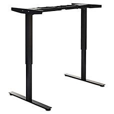 Lorell Quadro 2D SitStand Desk Frame