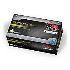 Medline Venom Steel Latex Industrial Gloves