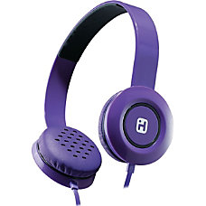 iHome iB35 Headphone Purple
