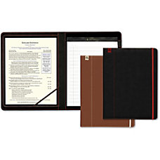 Southworth Career Padfolio Leatherette Black 1