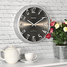 FirsTime Steel Dimension Wall Clock 10