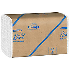 Scott 60percent Recycled Multifold Paper Towels