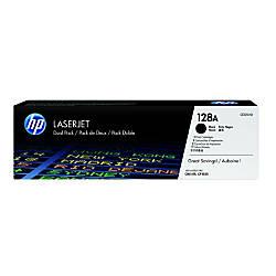 HP 128A Black Original Toner Cartridges
