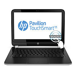 "HP Pavilion TouchSmart 11-e010nr/e110r Laptop Computer With 11.6"" Touch-Screen Display & AMD A4 Accelerated Processor"