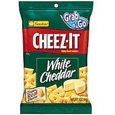 Cheez It Baked Snack Crackers White