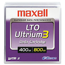 Maxell LTO Ultrium 3 Data Cartridge