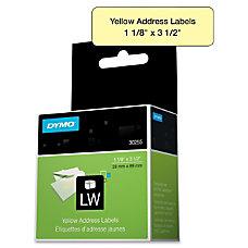 Dymo 30255 Address Label Permanent Adhesive