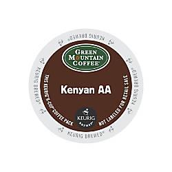 Green Mountain Coffee Kenyan AA Coffee