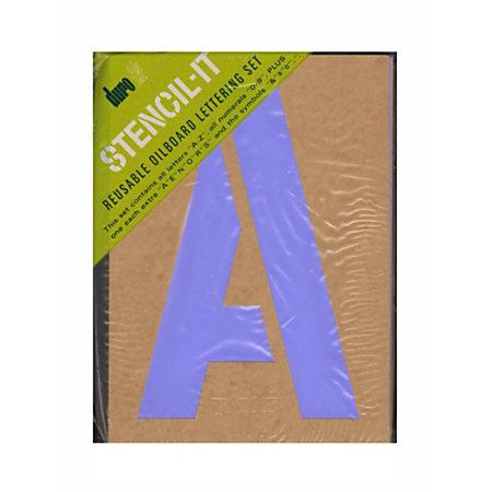 duro stencil it reusable oil board